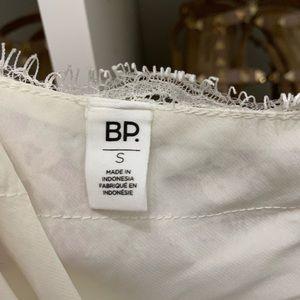 BP white lace cami